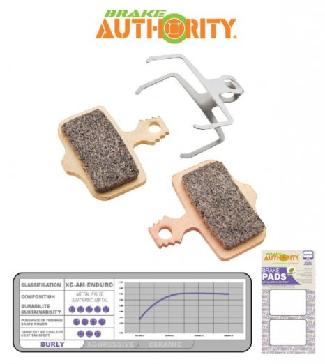Brake Authority Burly - Avid Elixir, DB, Sram Level  brzd. desti