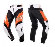 Alpinestars A-Line Pants Orange/Black/Grey kalh...