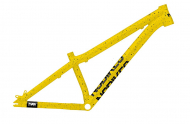 NS Bikes Decade V2 rám - Yellow Splash