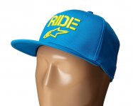 Alpinestars Circuit Ride Flat hat Flexfit kšilt...