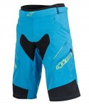 Alpinestars Drop 2 Shorts  Bright Blue Acid Yellow
