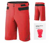 Alpinestars Drop 4.0 Shorts  Bright Red - s cyk...