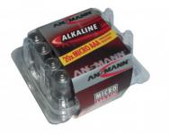 Baterie Ansmann Alkaline Micro LR 03 1,5 V, 1 x = 1 box 20 ks!