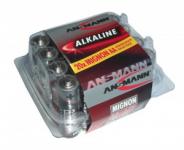 Baterie Ansmann Alkaline Mignon LR 06 1,5 V, 1 x = 1 box 20 ks!
