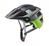 Cyklistická helma Cratoni AllSet (MTB) vel. S/M (54-58cm) lime/bílá/modrá matná