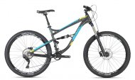 Haro Shift R5 LT (140 mm) - 27,5 Charcoal Cyan ...