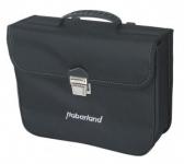 Jednoduchá taška Haberland Klassik cerná 34x27x11 cm 10 l, klein