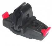Klickfix-adaptér na sedlo cerná