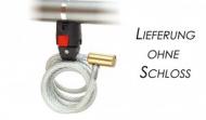 Klickfix-Mini-adaptér cerná, pro spirálový zámek