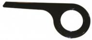 kryt prevodníku De Woerd 1-krídl. cerná do 40 zubu pro razení v náboji