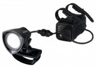 LED-svítilna na helmu Sigma Buster2000HL cerná