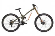 NS Bikes Fuzz 29 - DH downhill bike green/white...