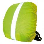 Obal na batoh Wowow žlutá, reflexní proužky, s taškou