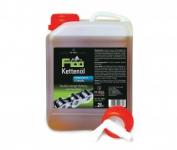 Olej na retez F100 2 litry kanystr s výpust.kohoutem+50ml kapací láhev
