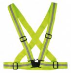 Reflexní pás Wowow Cross Belt žlutý, elstický, nastavitelný