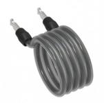 Spirálový kabel pro Onguard Revolver 185cm, Ø 12mm