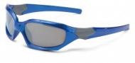 XLC Detské slunecní brýle 'Maui'  SG-K01 obroucky modré, zrcadlová skla