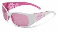 XLC Detské slunecní brýle 'Maui'  SG-K03 obroucky bílé/ružové, ružová skla