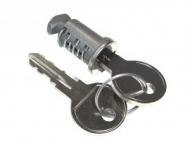 Zámek s klíci pro nosic na tažné zarízení Peruzzo